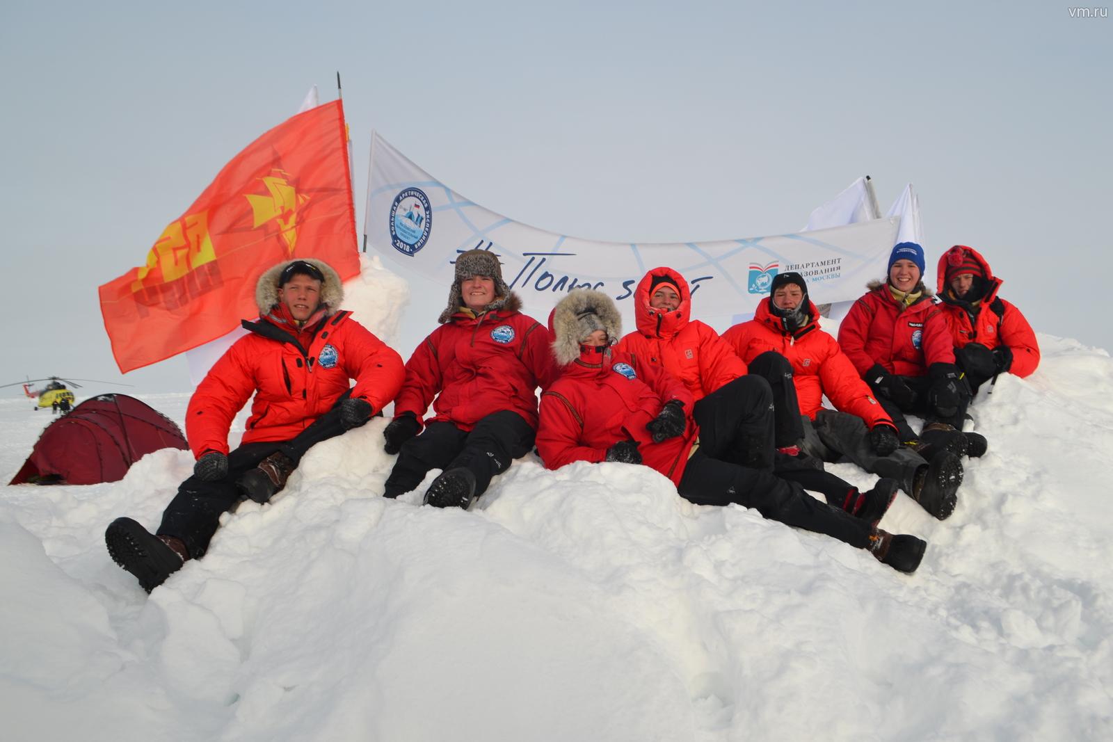 Московские школьники растопили лед Арктики